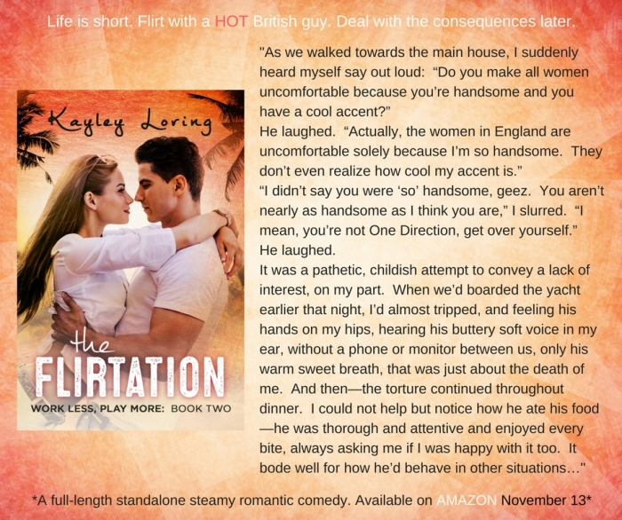 Flirtation blog post with excerpt