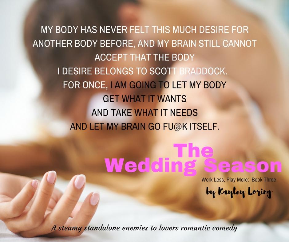 The Wedding Season Facebook Post