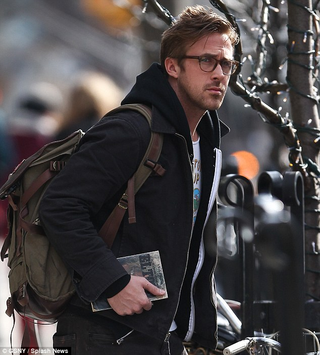 ryan gosling with glasses