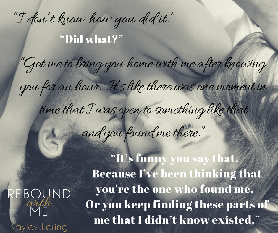 REBOUND WITH ME post