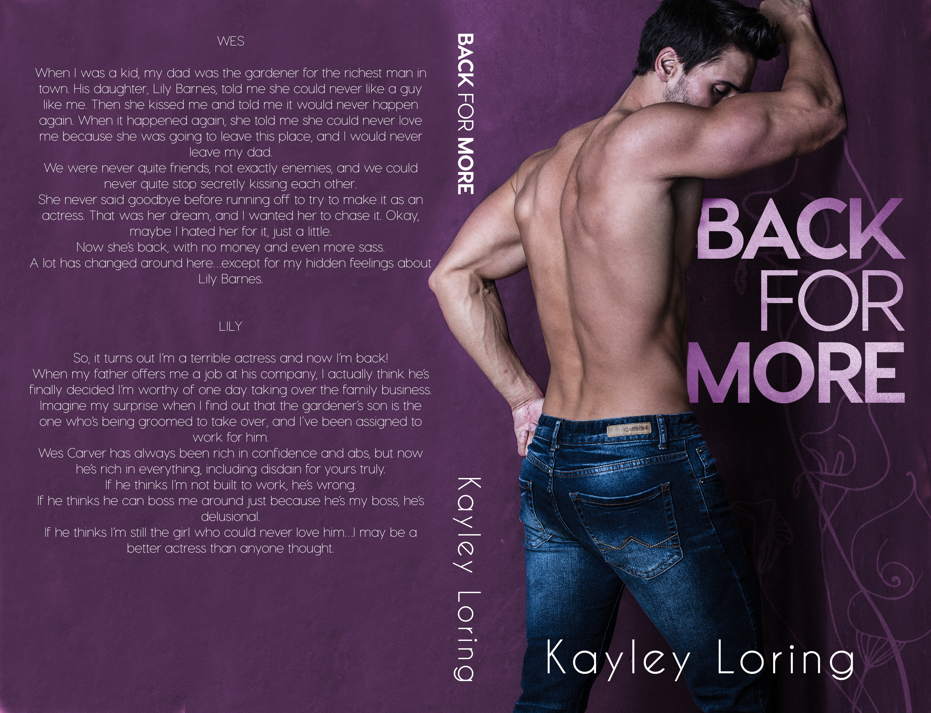 Back For More Kayley Loring Wrap-June 8
