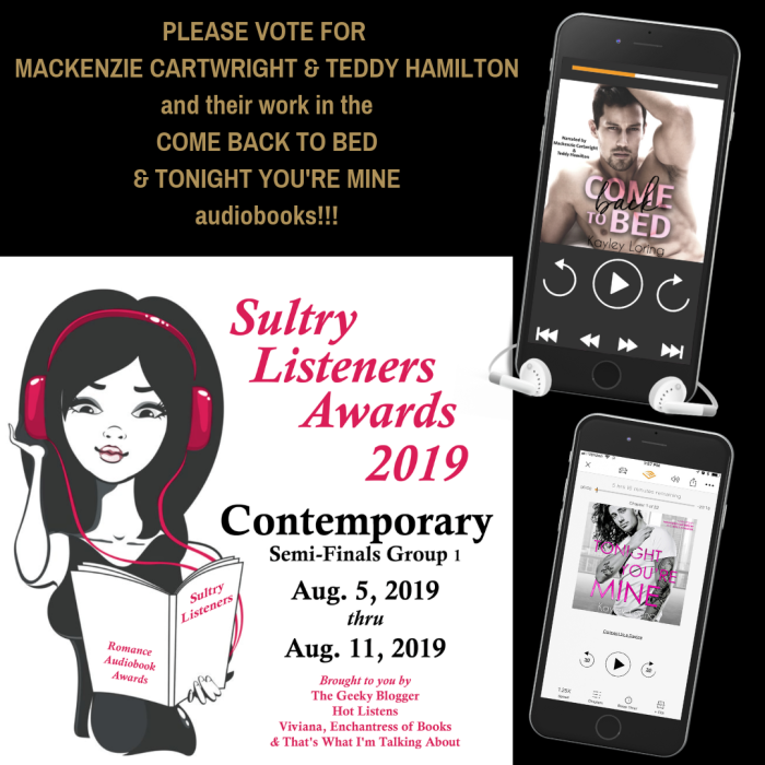 sultry listeners awards
